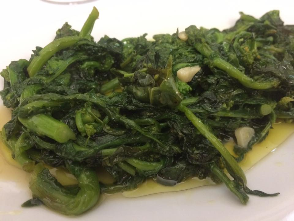 San Francesco, broccoli in padella