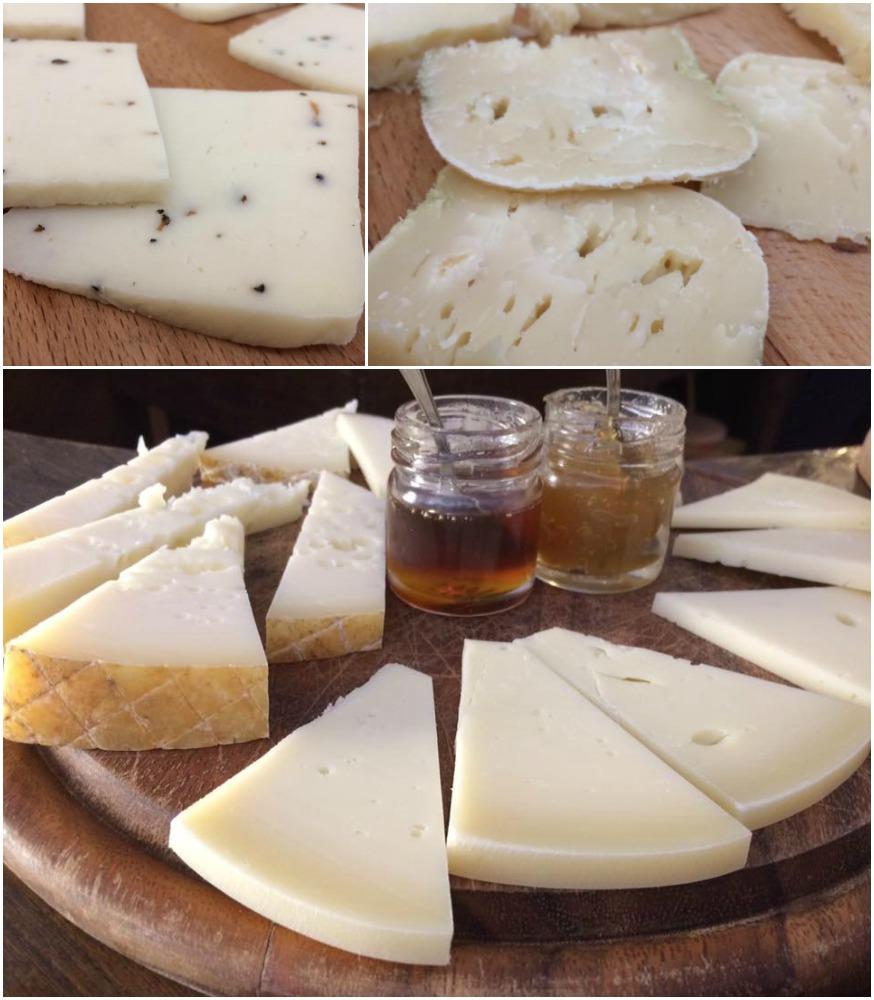 San Francesco, i formaggi