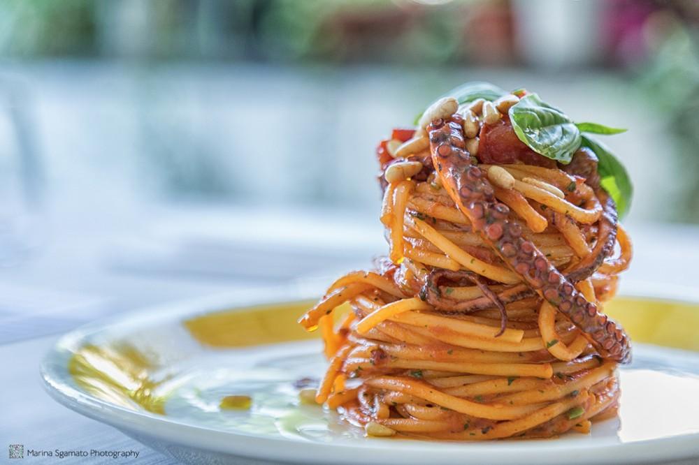 Spaghetti con il sugo di polpessa