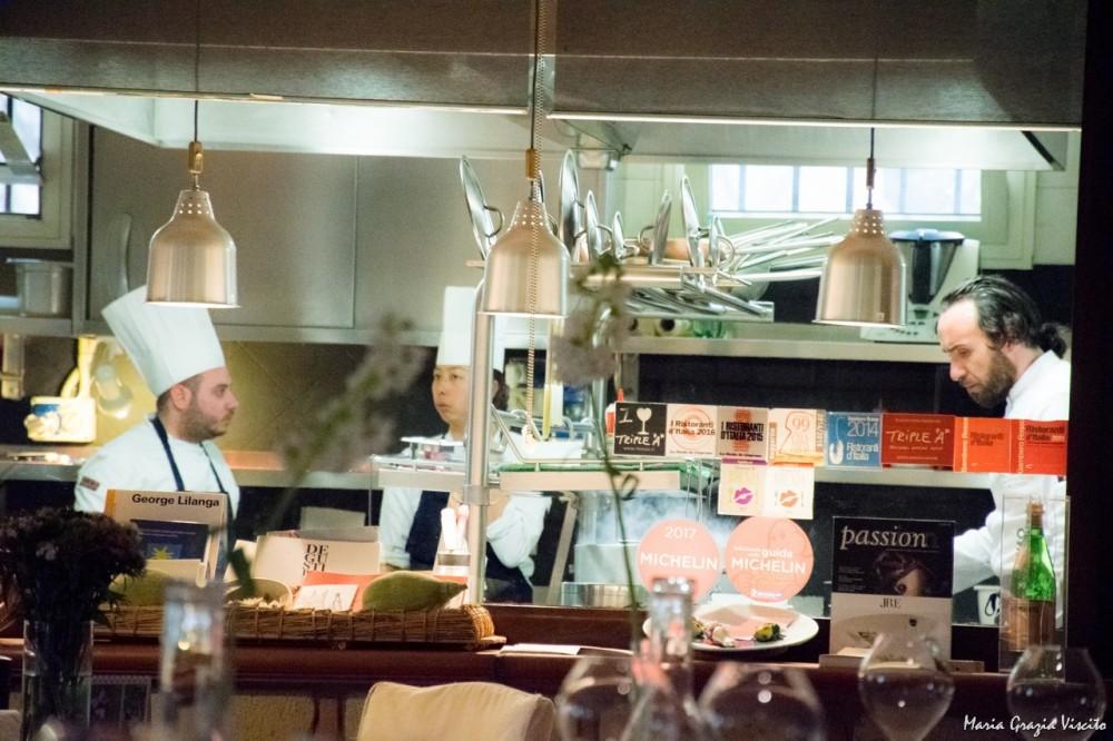 Taverna Estia, finestra sulla cucina