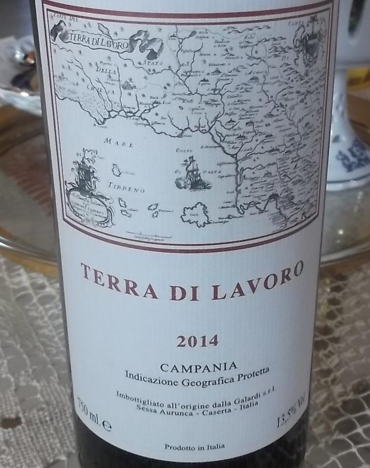 Terra di Lavoro Campania Igp 2014