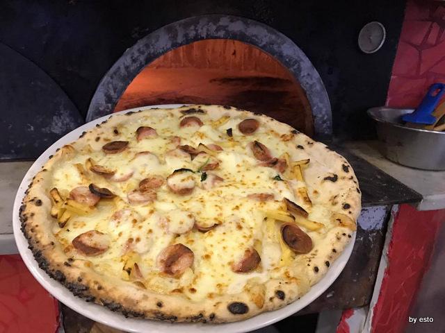 Vesi Celiaci pizza patate e salsiccia