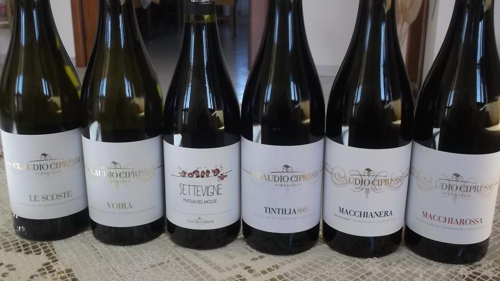 Vini molisani di Claudio Cipressi Vignaiolo - Luciano Pignataro Wine Blog
