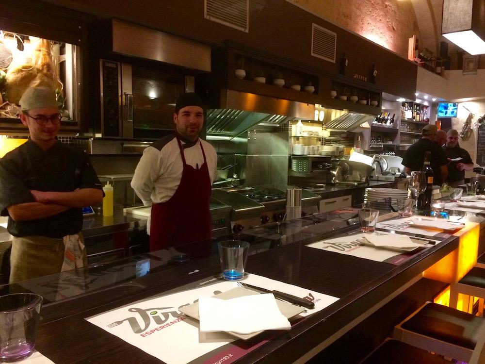Virgo - Cucina a Vista con lo chef Locantore