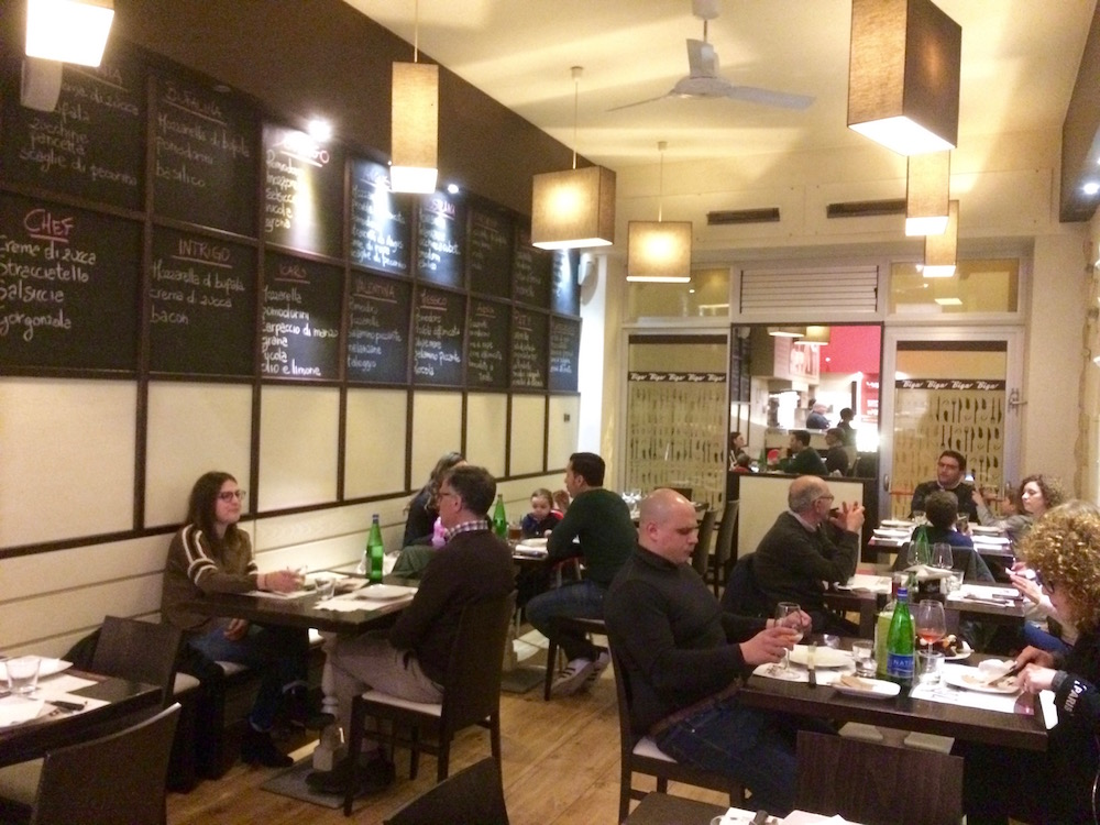 Virgo - sala ristorante