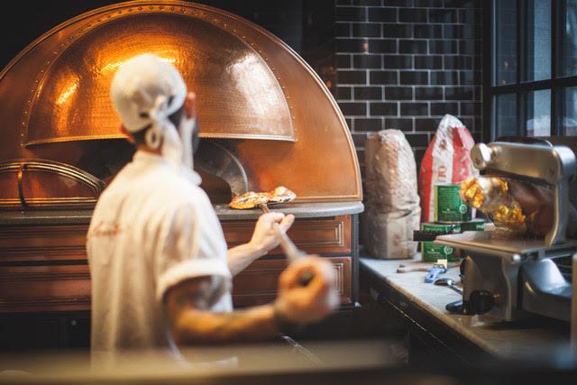 La festa di LSDM, la pizza