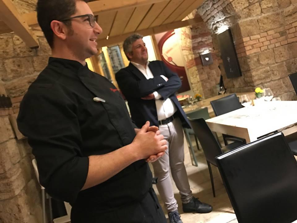 13 salumeria e cucina, chef Gianni mellone maitre Salvatore Maresca