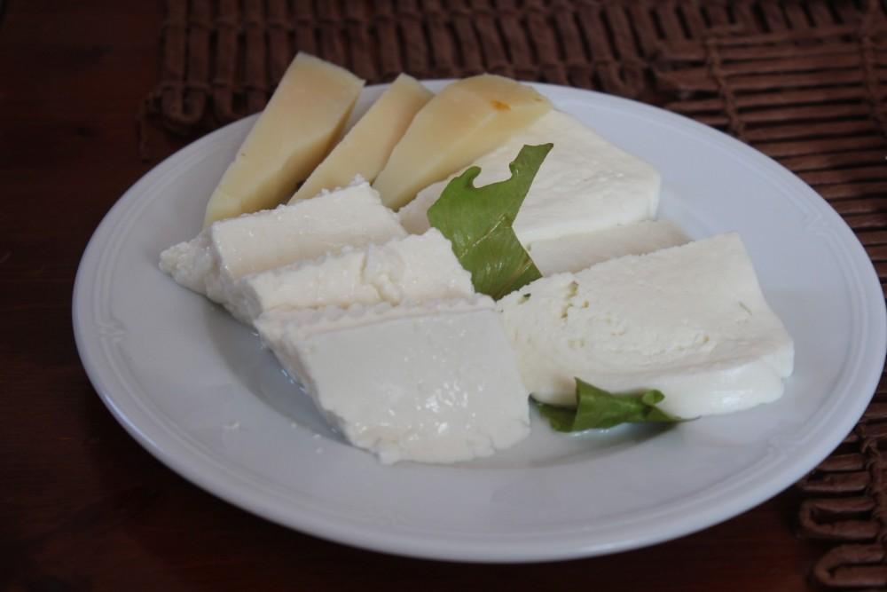 Villa Chiara, i formaggi