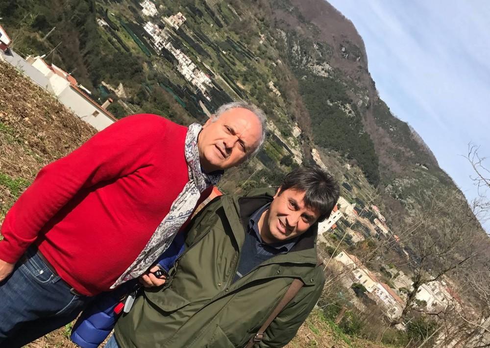 Tenuta San Francesco, con Gaetano Bove e Carmine Valentino