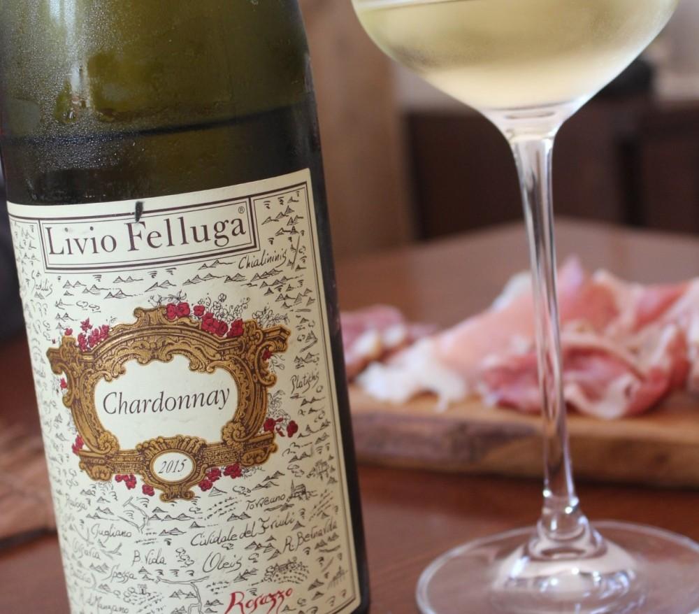 Chardonnay di Livio Felluga, COF 2015 cantina in Cormons