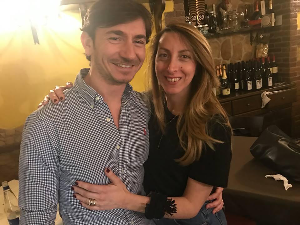 La Tradizione a Portici, Raffaele Brancaccio con la moglie Silvia Lombardi