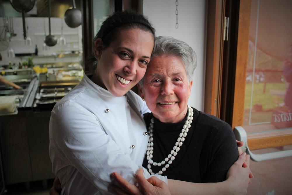 Villa Chiara, Fabiana Scarica e la nonna Maria