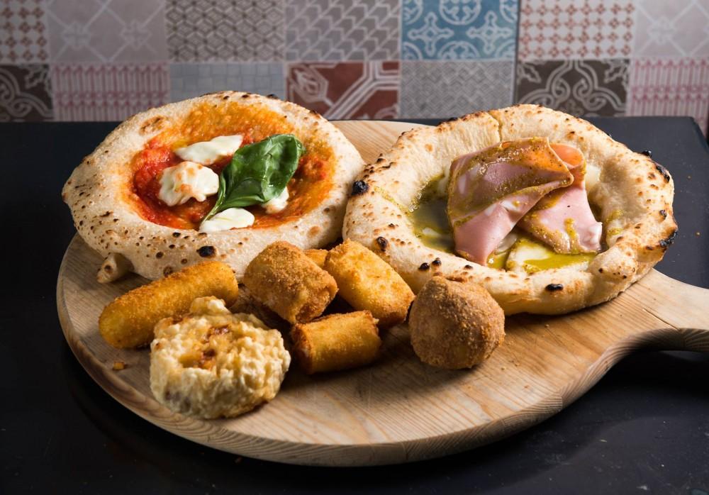 Pizzeria A'Chiazz, Montanare e fritti vari
