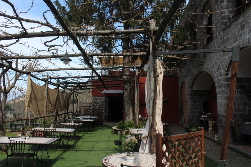 Villa Chiara, terrazza esterna