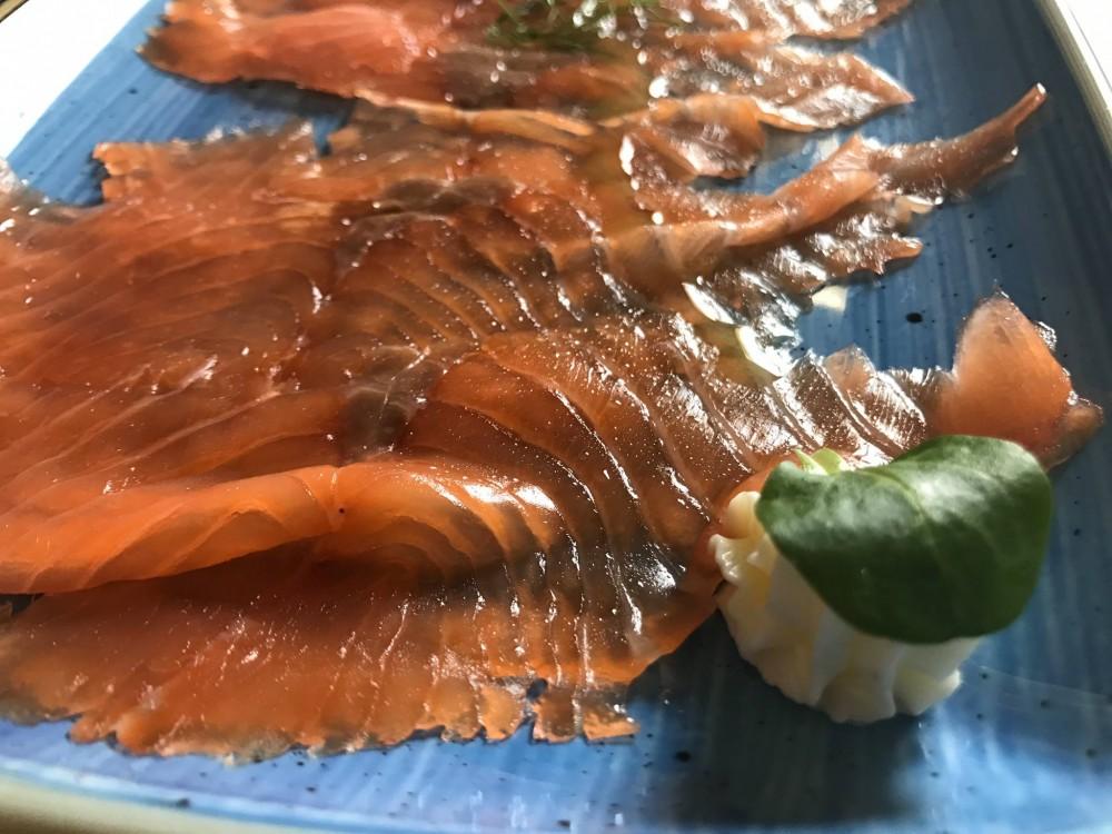 Pescheria, il salmone