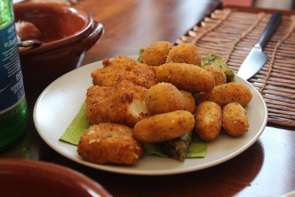 Villa Chiara, i fritti delicati in apertura