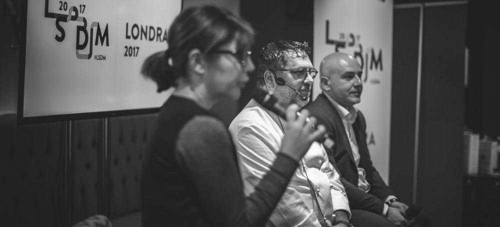 Angelo Sabatelli presenta il suo piatto a LSDM London