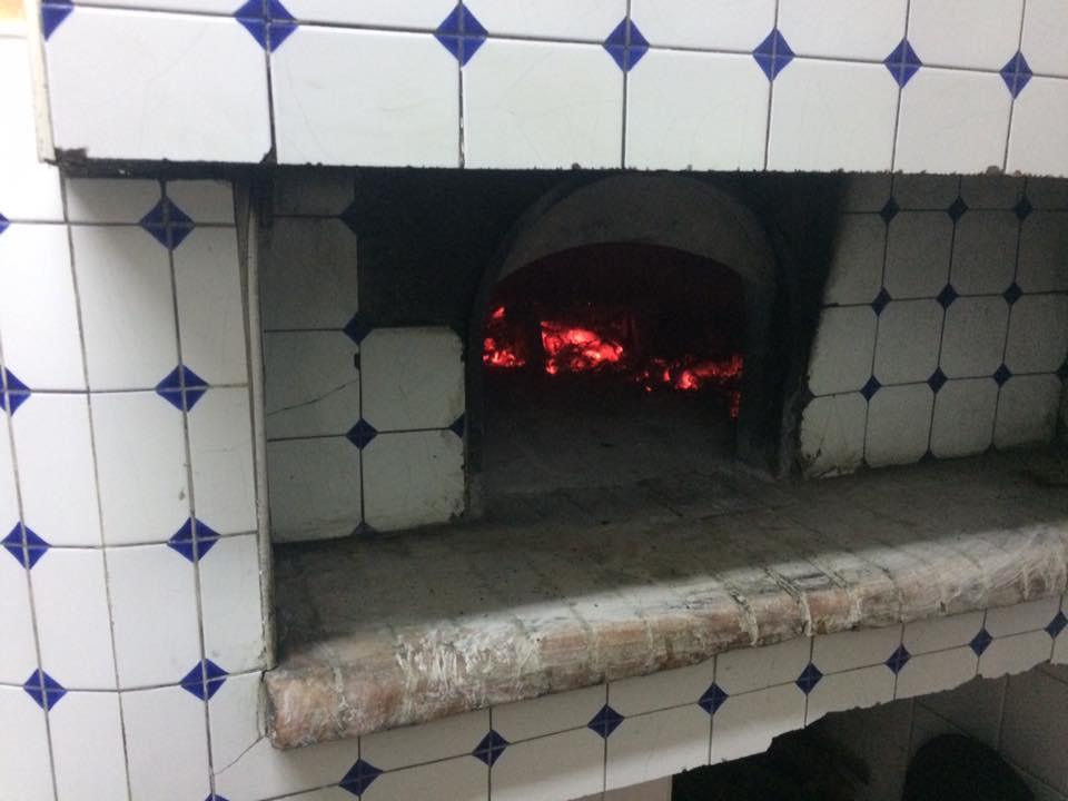 Antica Pizzeria De Rossi, il forno
