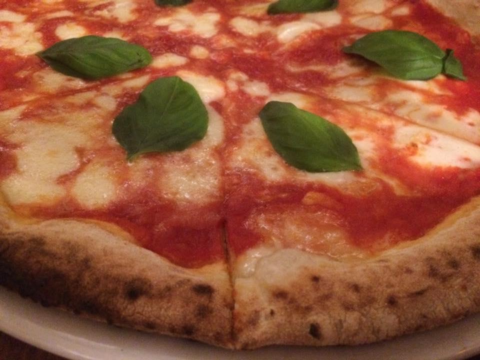 Antica Pizzeria De Rossi, la margherita
