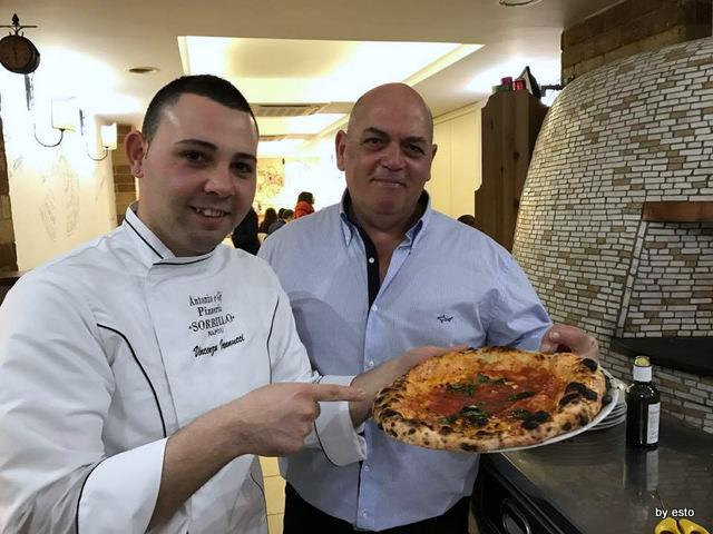 Antonio e Gigi Sorbillo  Vincenzo iannucci la marinara