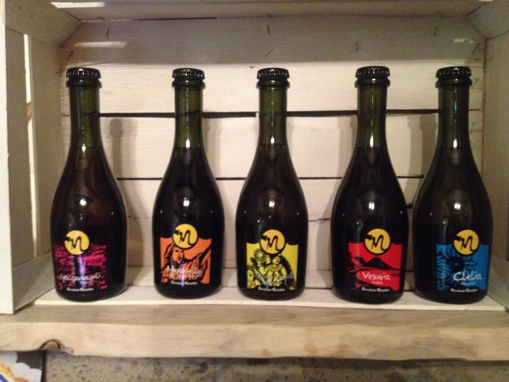 Barbacia', le birre Maneba