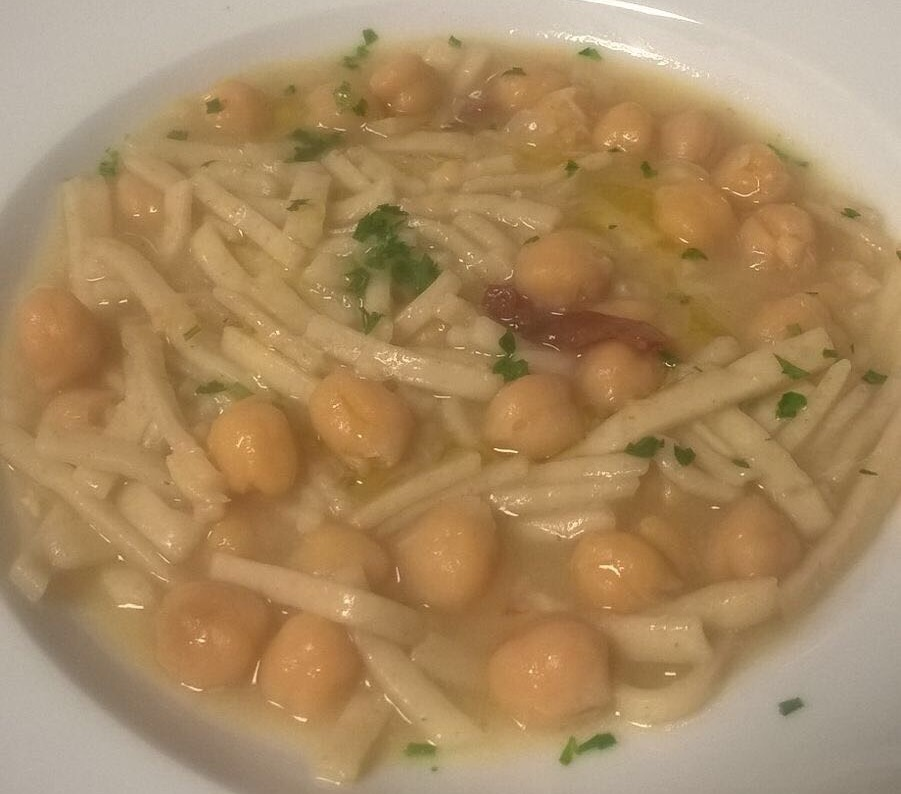 Buccicatino - Sagne e ceci e Baccala'