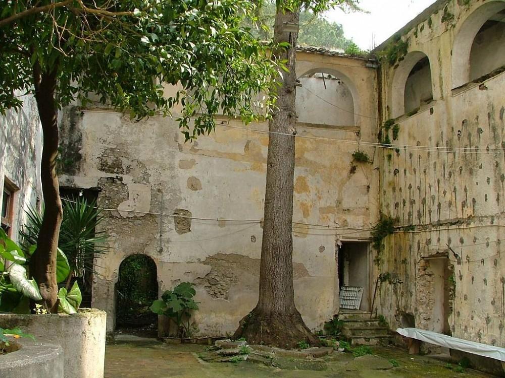 Chiostro Conservatorio Monastero di Pucara, Tramonti