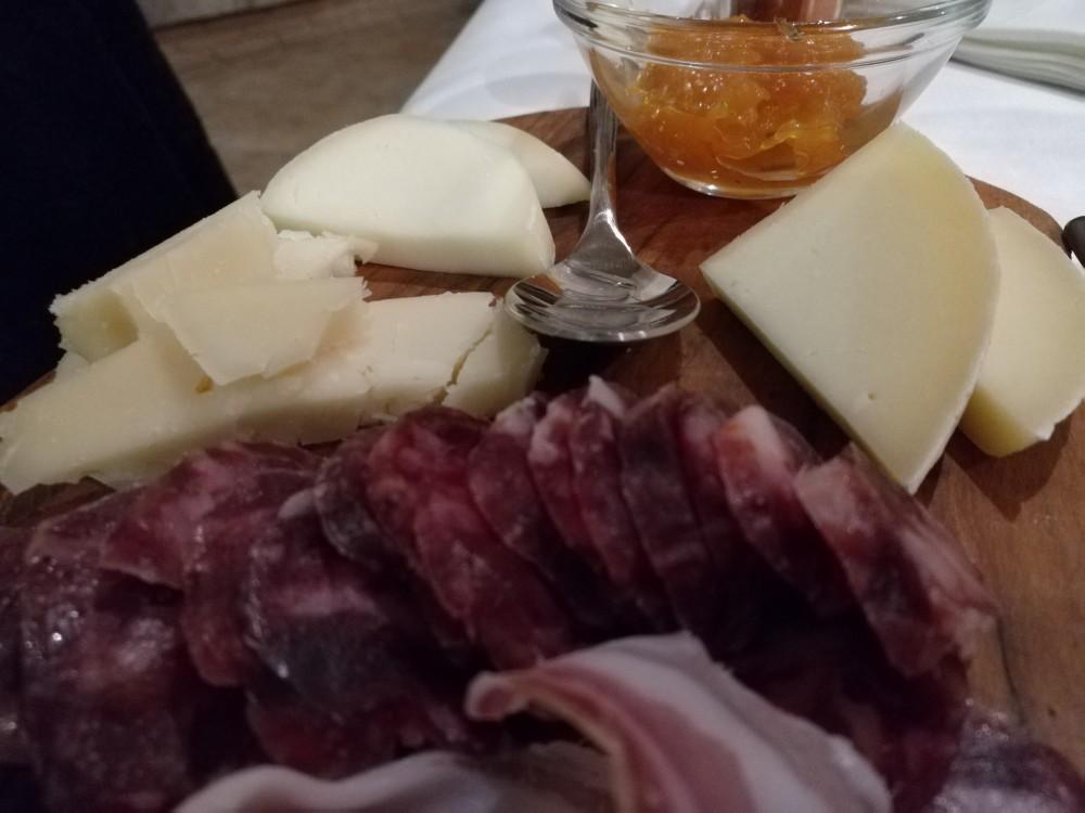 Corte Ciervo, formaggi