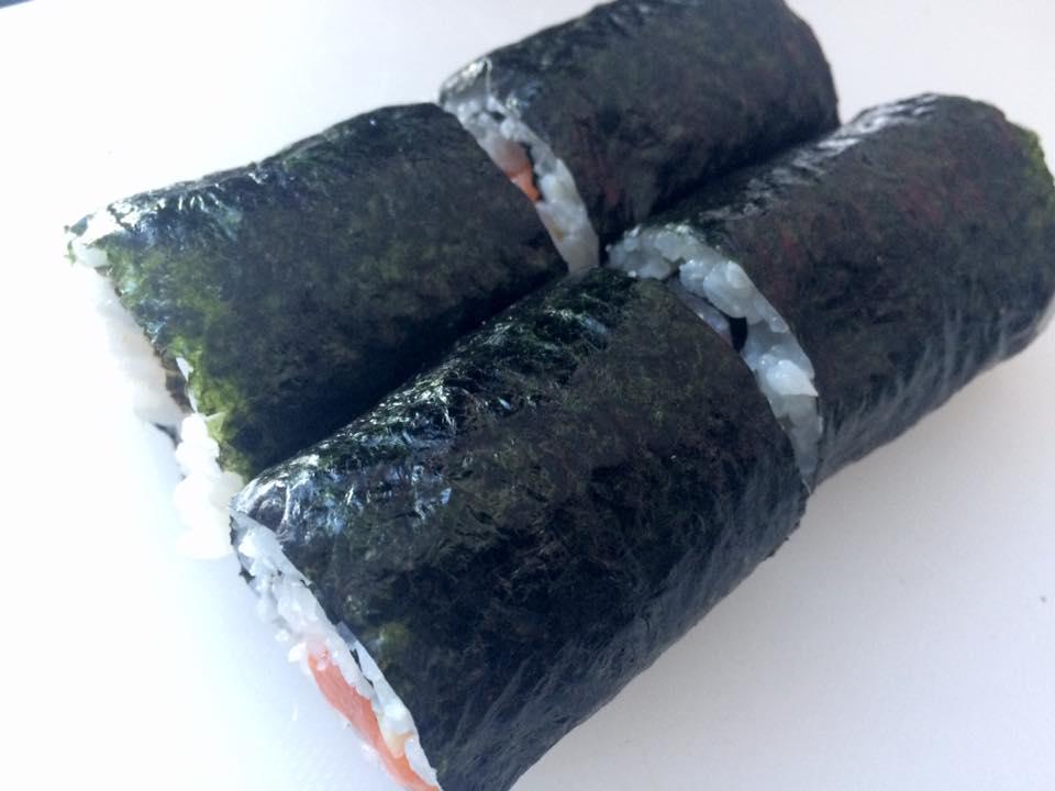 Il procedimento di preparazione di un Futomaki