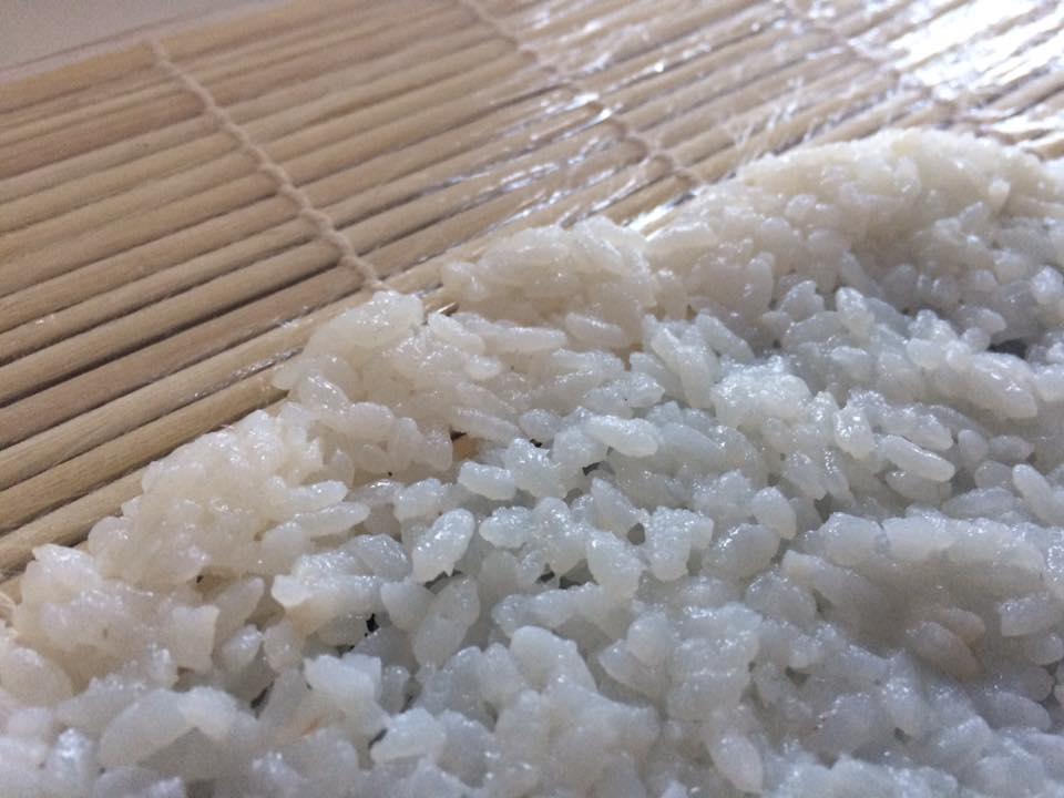 Il procedimento di preparazione dell'Uramaki