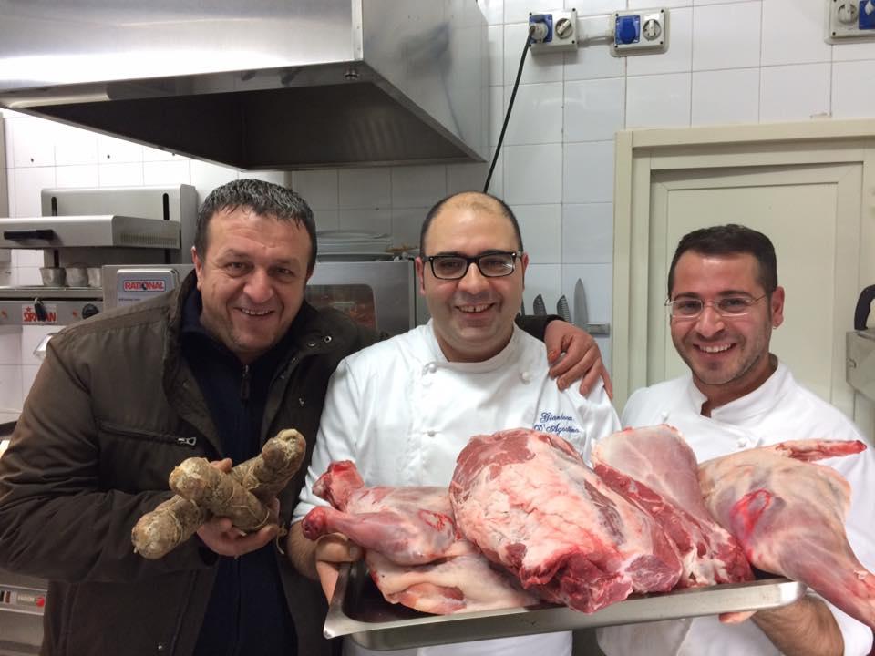 Lo Chef Gianluca D'Agostino, Mario Laurino e La Materia Prima D'Irpinia