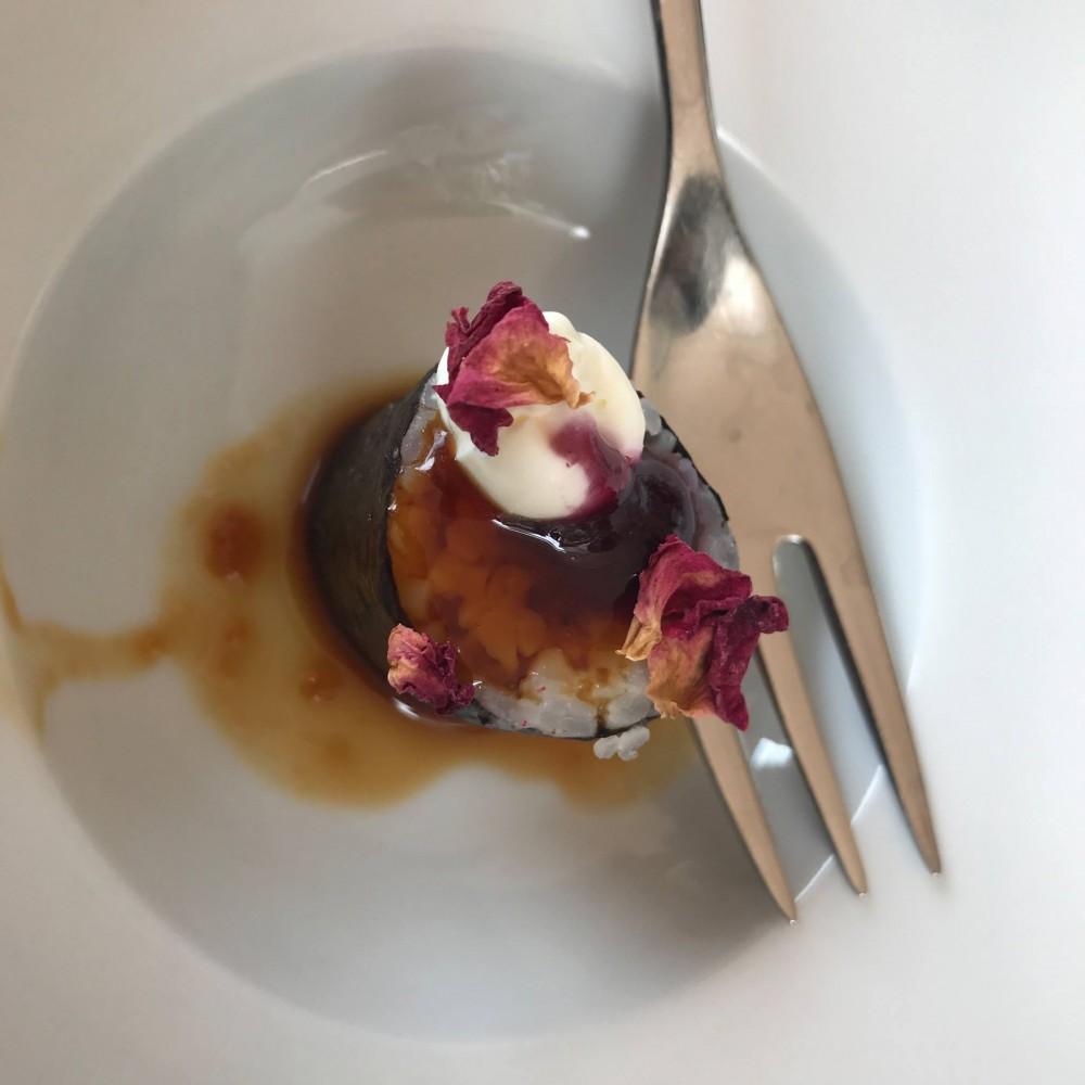 Gallo a Trani, benvenuto di sushi