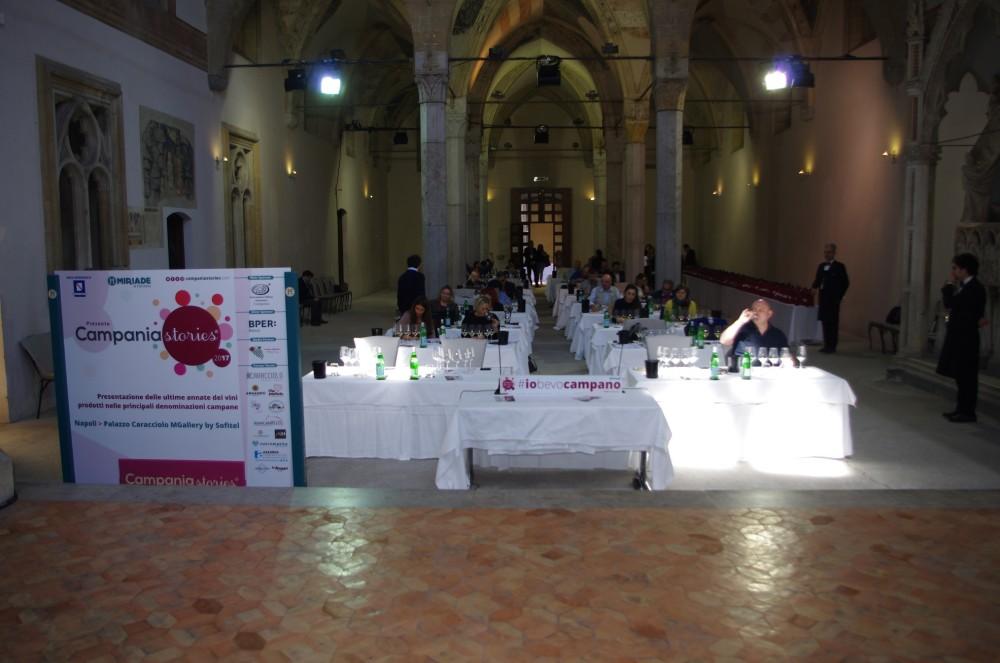 Campania Stories 2017, prima giornata