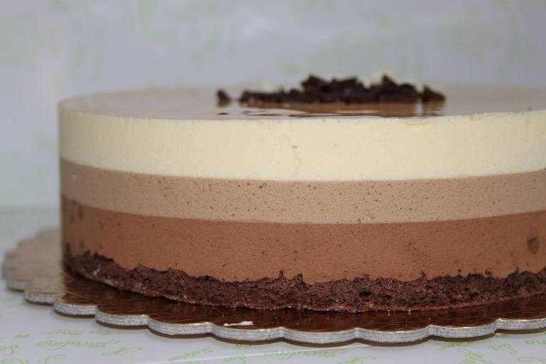 Il Giardino dei Golosi, la Tre cioccolati