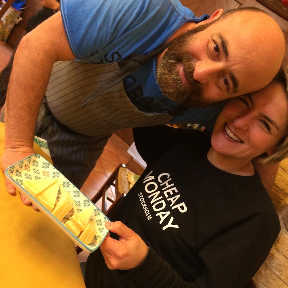 La Tavernetta - Valentina con Paolo il gestore