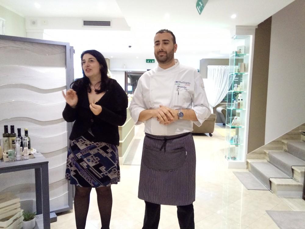 Maria Teresa Scarpa ed Alessandro Feo