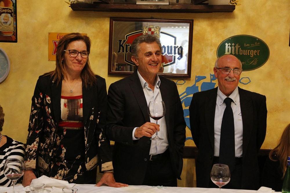 Marisa Cuomo, Andrea Ferraioli ed Enrico Malgi