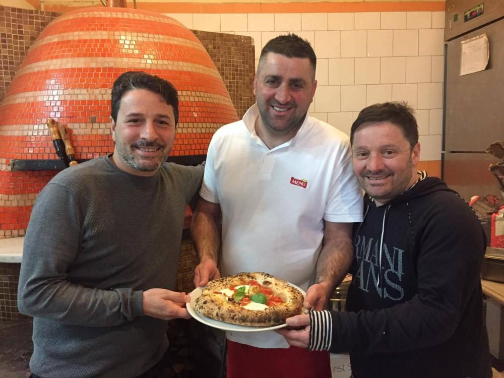 Massimo Sammarco, Arturo Cerullo e Pasquale Sammarco