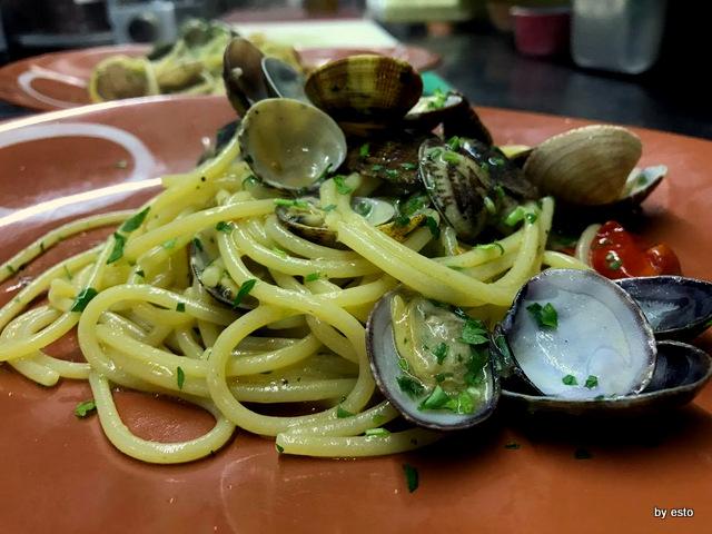 Nannina in Pescheria Pietro Parisi spaghetti con le vongole