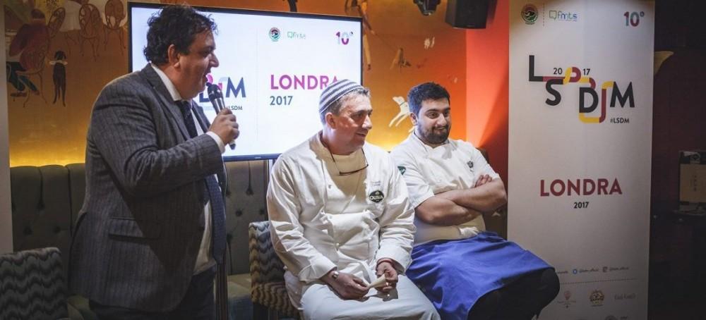 Pasquale e Gaetano Torrente presentano il loro piatto a LSDM London