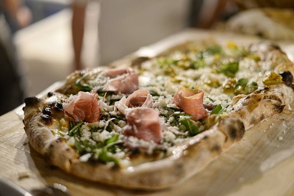 Pomodoro, pizza Fume'