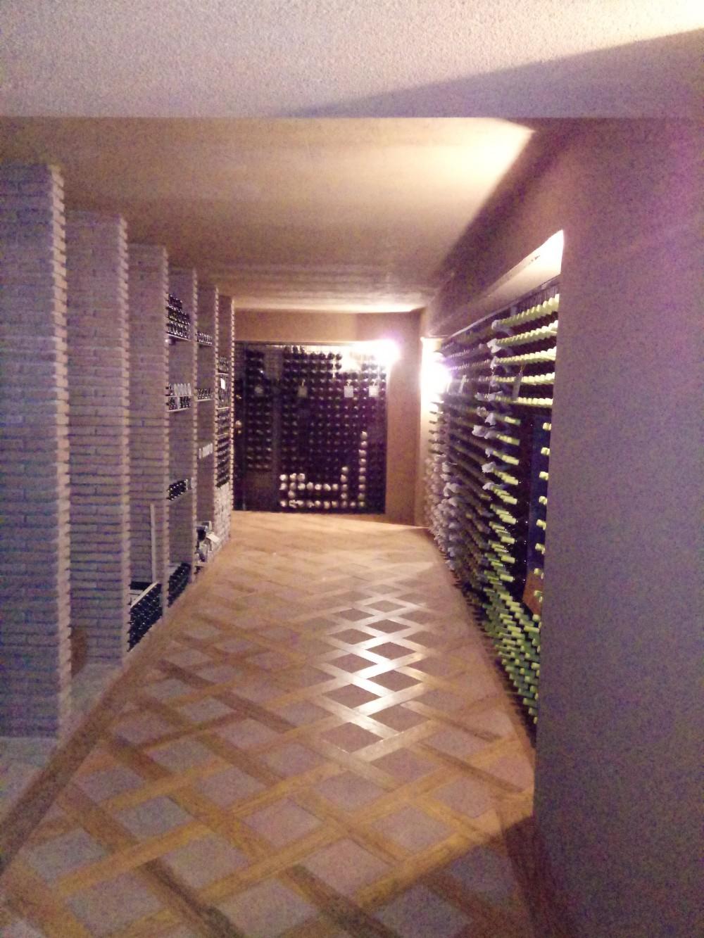 Quintodecimo stoccaggio dei vini