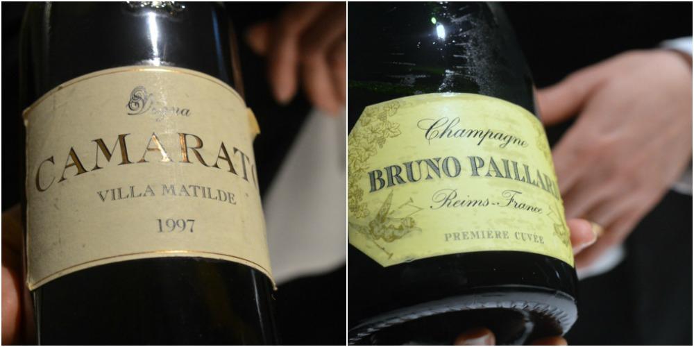 Ristorante President, vino e champagne