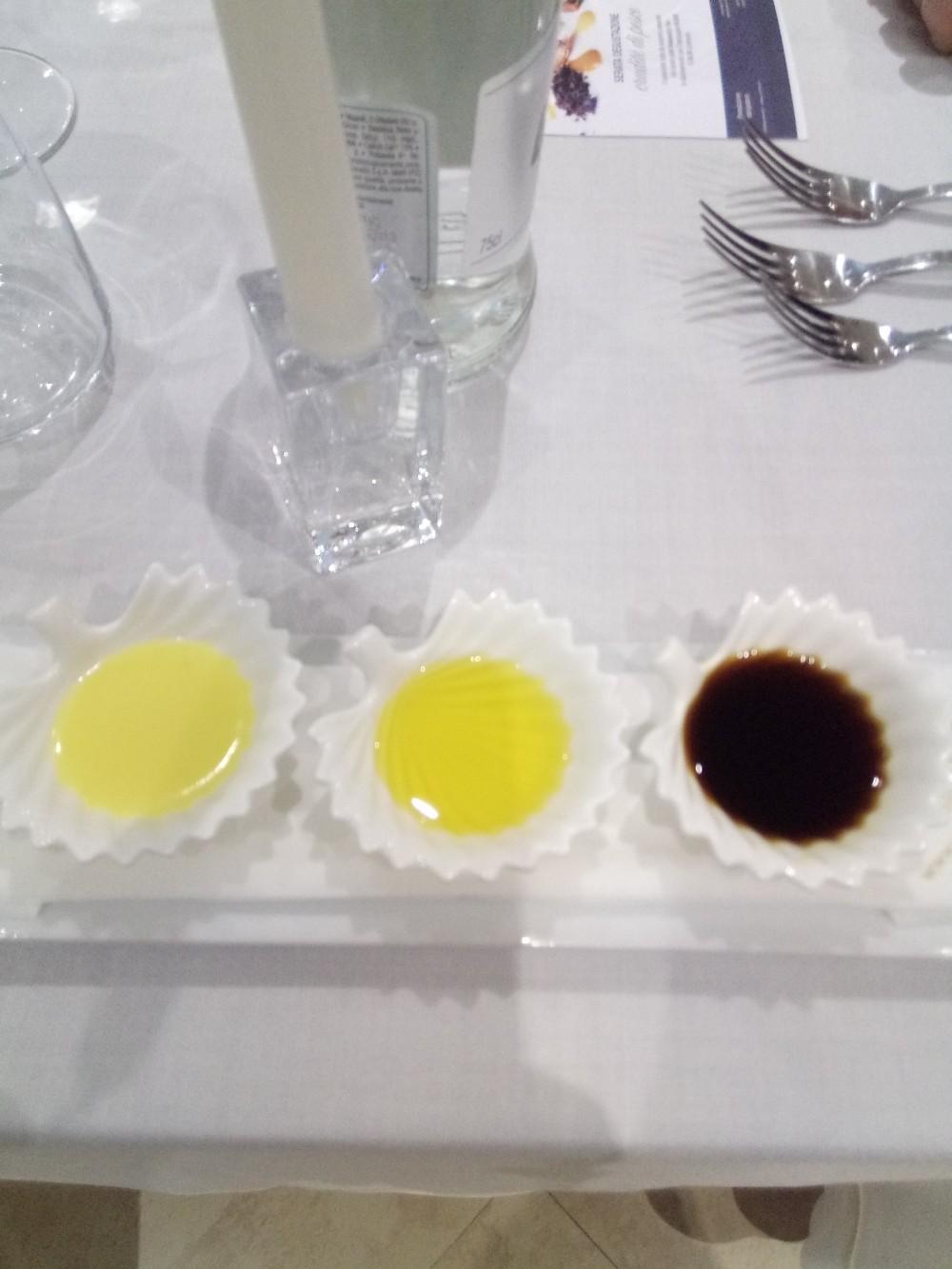 Rumi Restaurant citronette,  olio evo e salsa di soia