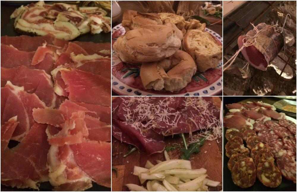 Saletta gourmet, gli affettati