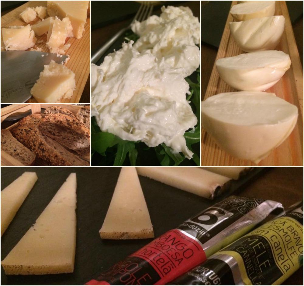 Saletta gourmet, i formaggi