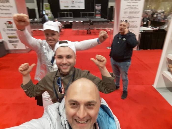 Selfie di Albachiara, Landi e Pannella