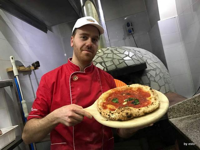 Soul Roberto Caccia pizza  marinara