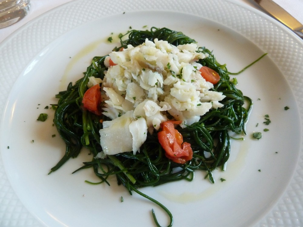 Trattoria Visconti, insalata di merluzzo
