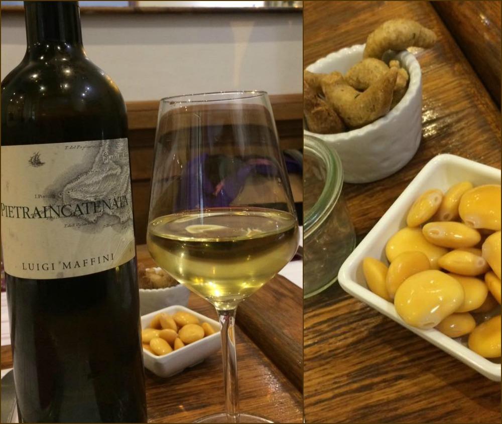 Trimani Wine Bar, aperitivo